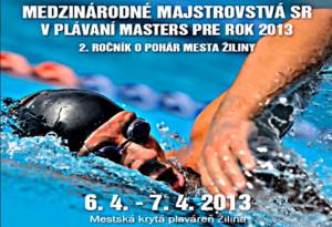 Medzinárodné Majstrovstvá SR v plávaní masters 2013