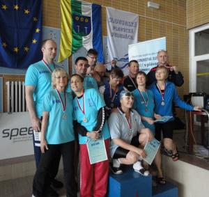 Medzinárodné Majstrovstvá SR v plávaní masters 2014