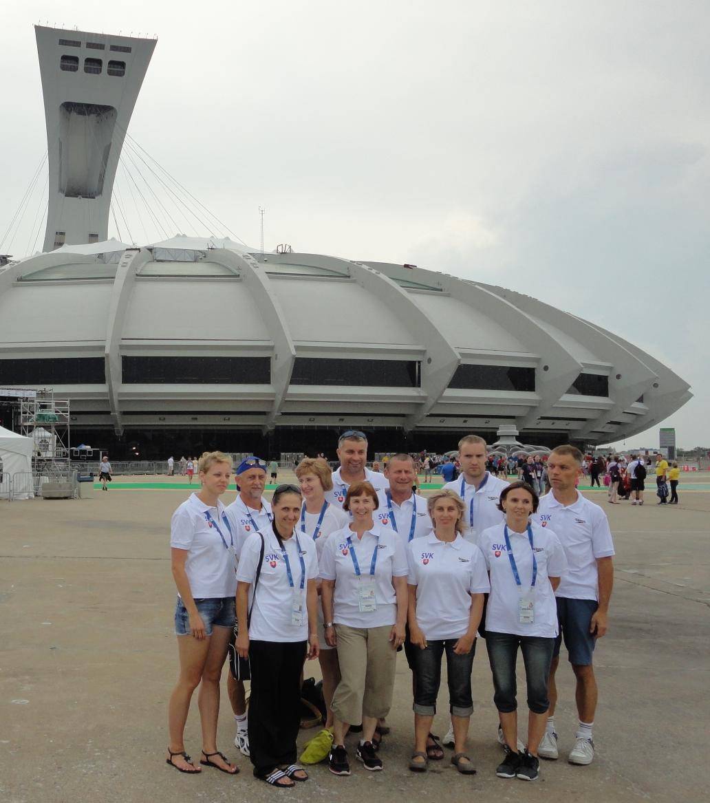 Plavci PVK Bratislava v montrealskom Olympijskom parku