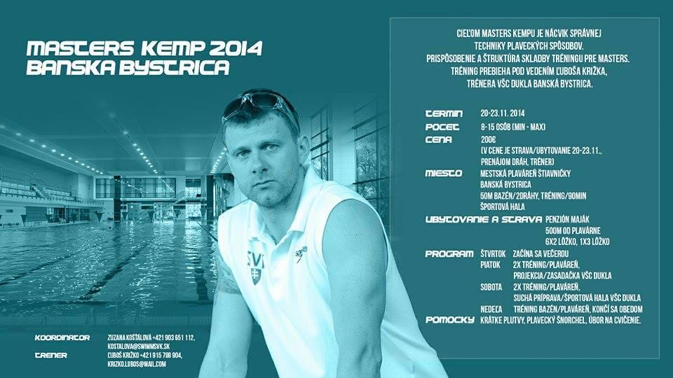 Pozvánka na 1. slovenský masters kemp