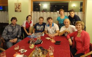 Plavci PVK BA na prvom masters kempe