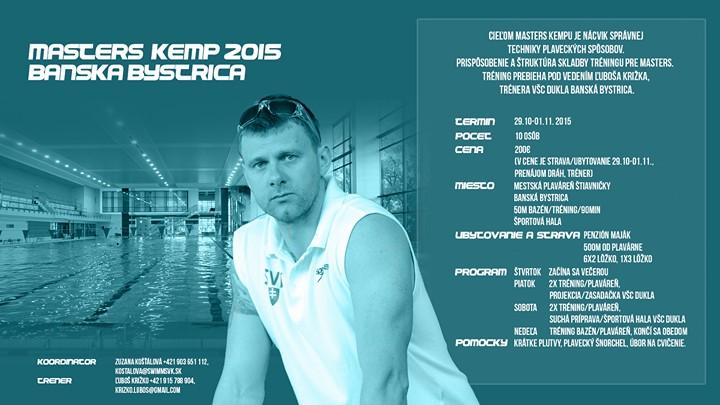 Pozvánka na 2. slovenský masters kemp