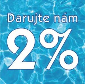 Vaše 2% pre veteránske plávanie