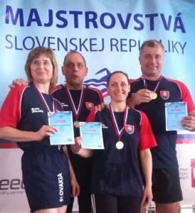 Medzinárodné Majstrovstvá SR v plávaní masters 2016