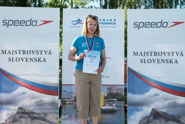 Majstrovstvá Slovenska v diaľkovom plávaní 2017, Zlaté piesky Bratislava