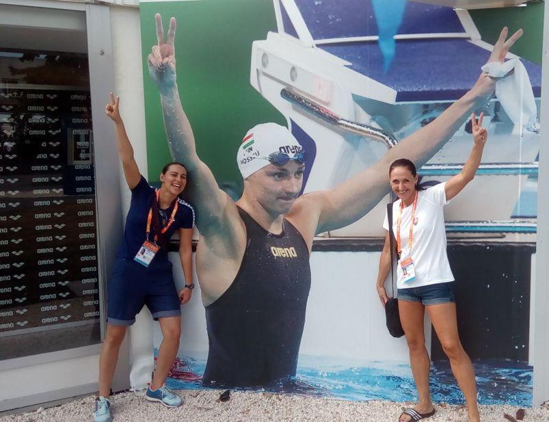 Katinka Hoszú, súčasná najúspešnejšia maďarská plavkyňa, svetová rekordérka a viacnásobná majsterka sveta