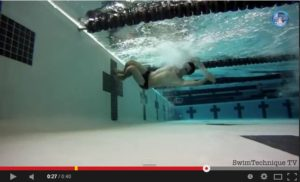 Plavecké obrátky