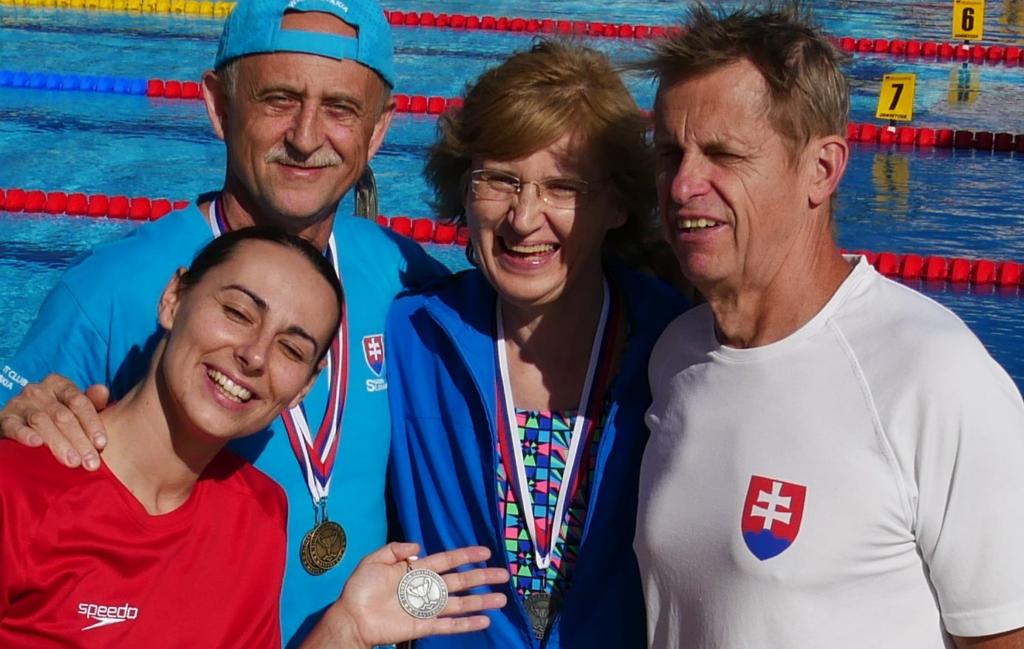 Plavci PVK Bratislava na pretekoch v x-bionic®️ Aquatic sphere v Čilistove -Šamoríne