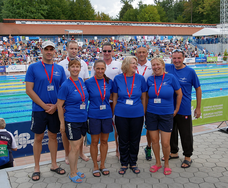 Plavci PVK Bratislava na European Masters Championships, Slovenia, Kranj