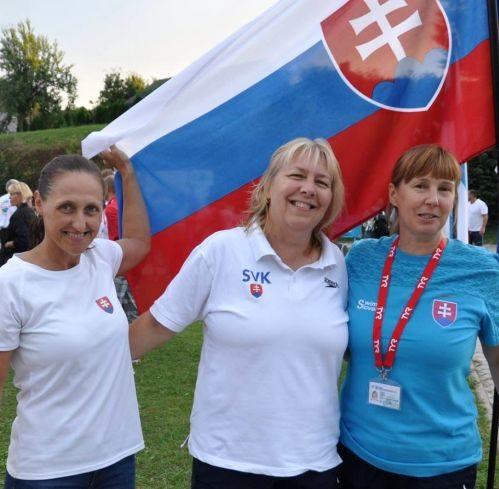 masters plavkyne PVK Bratislava na ME v plávaní masters 2018 v Kranj