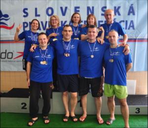 Medzinárodné majstrovstvá SR v plávaní masters 2019