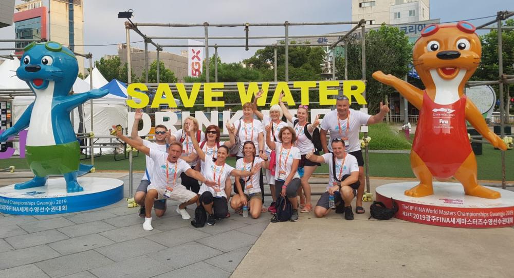 189. Majstrovstvá sveta v plávaní masters 2019 v Gwangju, Južná Kórea