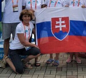 S hrdosťou plávam pod slovenskou zástavou