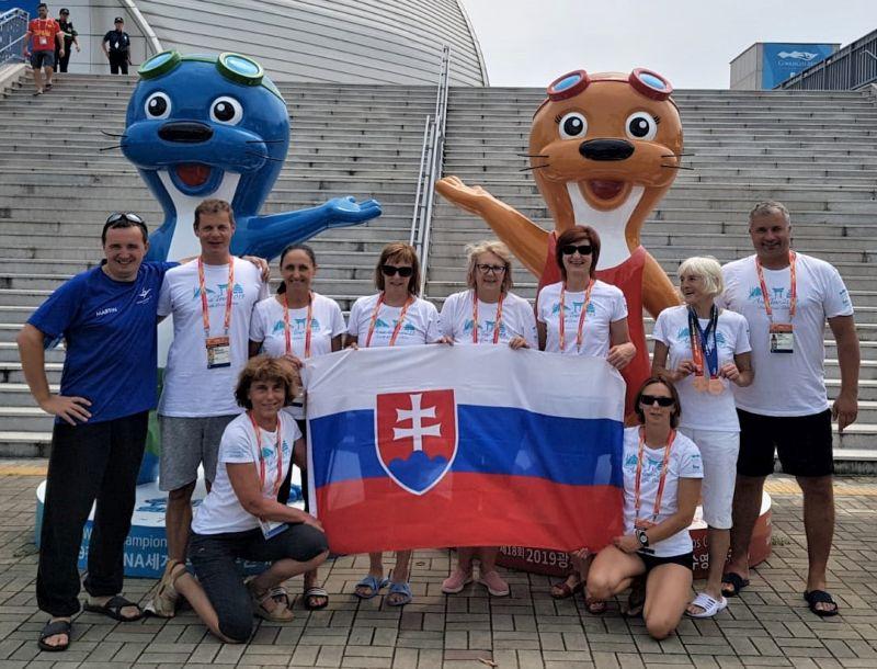 FINA World masters Championships 2019 Gwangju, South Korea