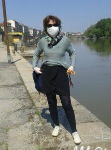 Turín v 1. vlne pandémie covid-19 na jar 2020